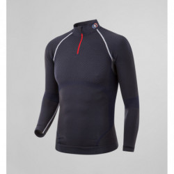 T-Shirt Col Zippe homme